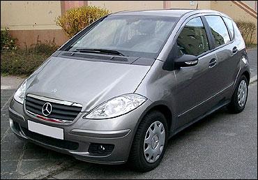 Mercedes A Class.