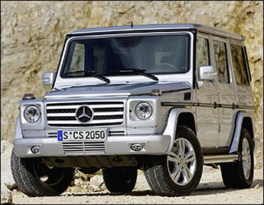 Mercedes Benz G-Class.