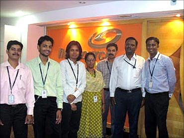 Firstsource employees.