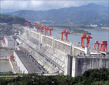 Three Gorges Dam, China.