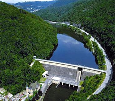 Xiangjiaba Hydro power project.