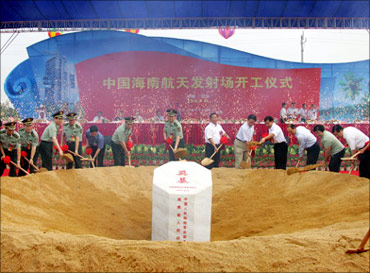 Hainan Wenchang Space Centre to open by 2013.