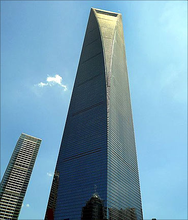 Shanghai World Financial Centre.