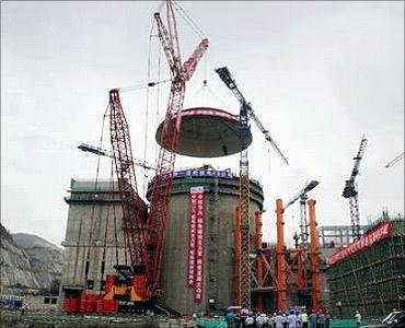 Yangjiang Nuclear Power Station.