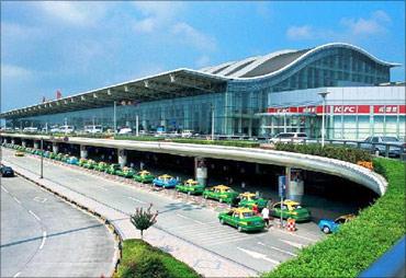 Chengdu Shuangliu Airport.