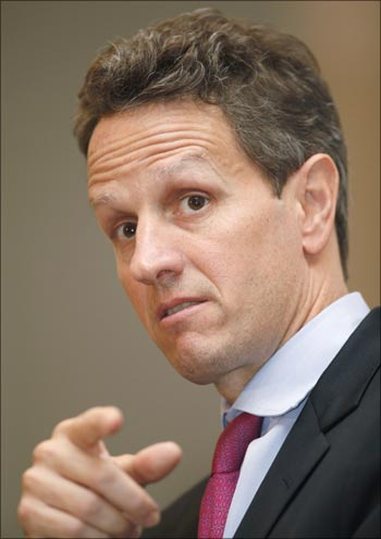 US treasury secretary Timothy Geithner.