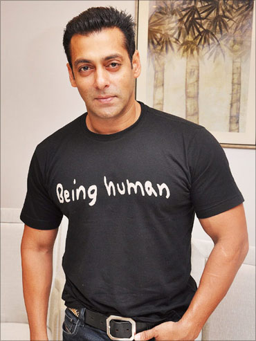 Salman Khan's Being Human apparel.