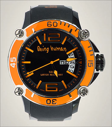 Being Human brand's watch.