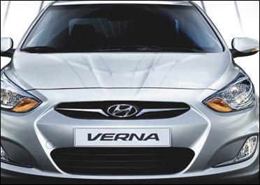 Hyundai Verna.