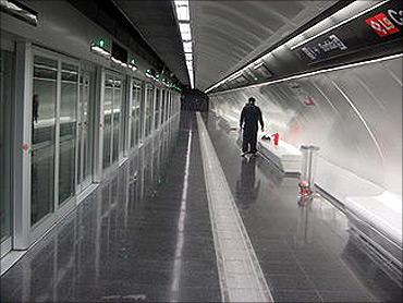 Barcelona Metro Line.