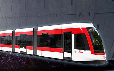Crosstown LRT Rapid transit line.