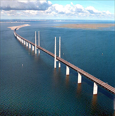Oresund Bridge.