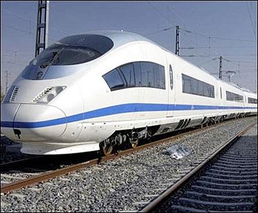 China's high speed train.