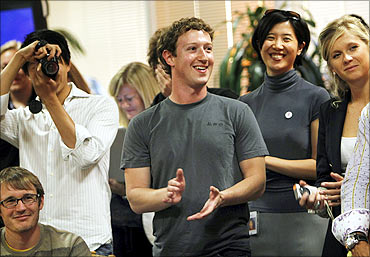 Facebook founder Mark Zuckerberg now worth $18 billion