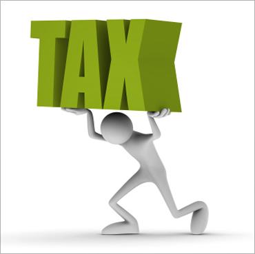 Tax burden.