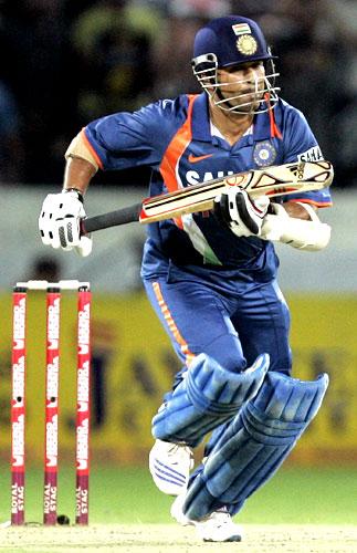 Master batsman Sachin Tendulkar.