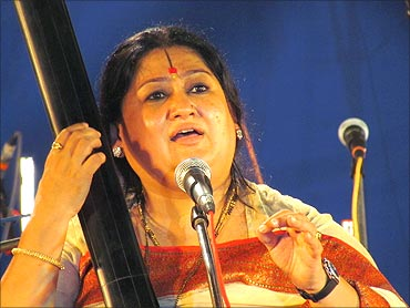 Shubha Mudgal.