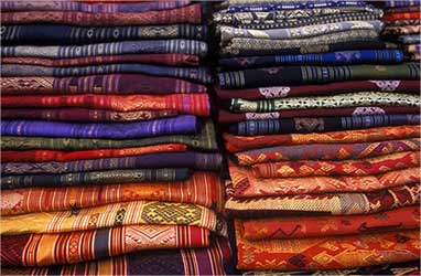Mixed bag of colours for the textile industry