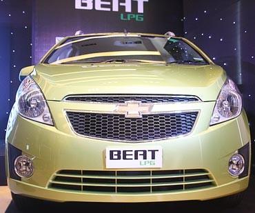 Chevrolet Beat LPG