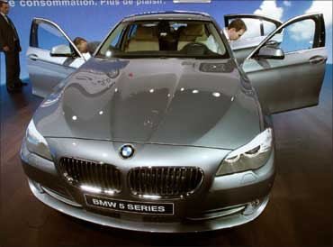 BMW 5 series.