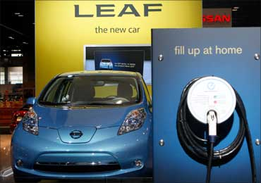 Nissan Leaf.
