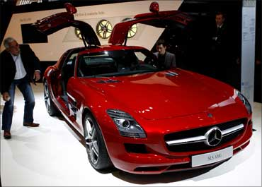 Mercedes Benz SLS AMG.