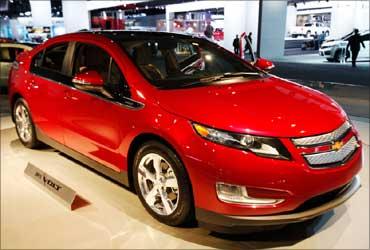 Chevrolet Volt.