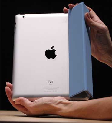The iPad 2 is 8.8 millimeters thick.