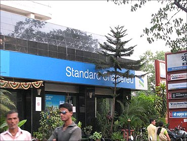 Standard Chartered has also been hit by fraud