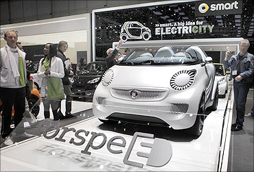 Smart Forspeed concept car.
