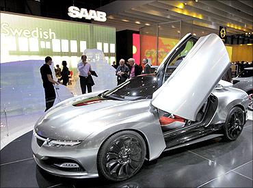 Saab PhoeniX concept car.