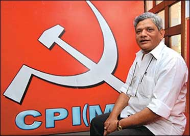 CPI(M) Polit Bureau member Sitaram Yechury.