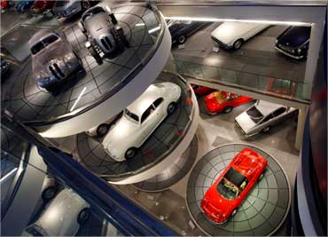 A general view of the Hellenic Motor museum in Athens.