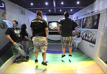 Microsoft's Xbox Kinect has connected with gamers.