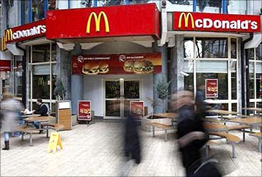 McDonald's runs several charity programmes.