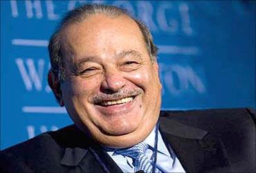 Carlos Slim is a Mexican telecom mogul