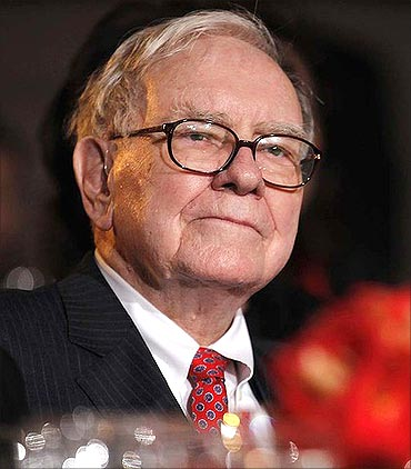 Warren Buffett has pledged to give away 99 per cent of his wealth