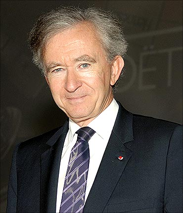 Bernard Arnault is chairman of LVMH