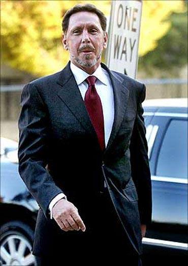 Larry Ellison is Oracle chief