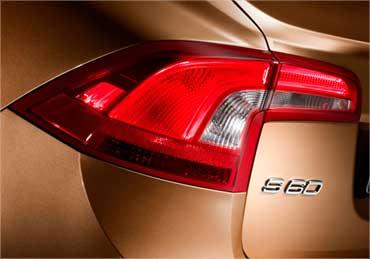Volvo S60 taillight.