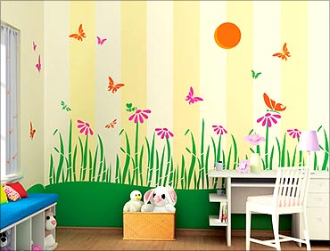 Meet india inc 39 s best performers business Kids room wall painting design