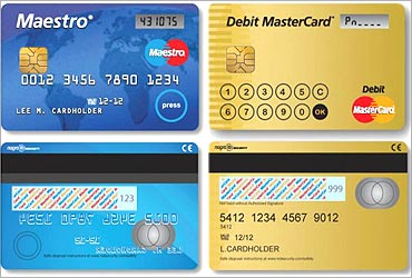 Mastercard has introduced a card with LCD screen.