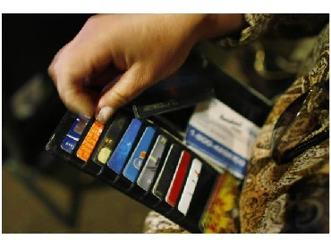 Wary about using credit cards, try cash cards