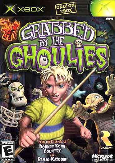 Xbox's first title was Grabbed by the Ghoulies.