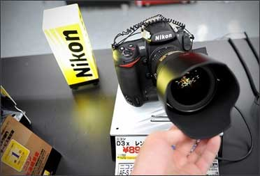 Nikon's sales to be hit.