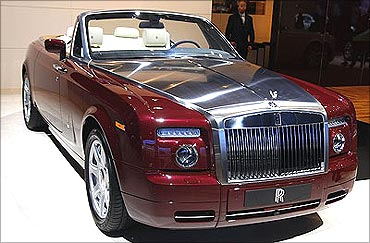 It competes in a small segment of ultra-luxurious convertibles.