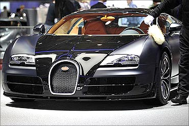 Bugatti Veyron Super Sport is the world's fastest car.