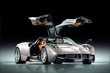 Huayra is named after a wind god.