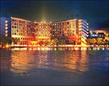 Novotel hotel.