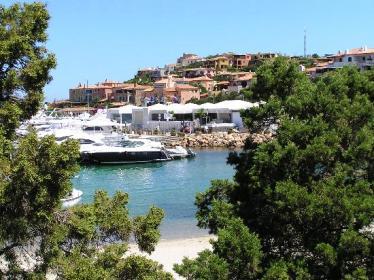 A sea-side resort on Porto Cervo.